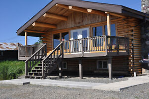 Log Home Located in Atlin with gorgeous view