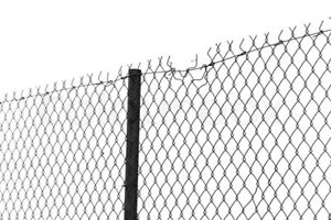 Looking for old chain link fencing