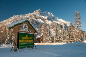 BANFF ROCKY MOUNTAIN RESORT  ---   CELEBRATE NEW YEARS!!!!!!