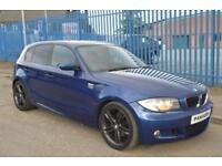 BMW 1 SERIES 2.0 120D M SPORT 5D AUTO 175 BHP DIESEL
