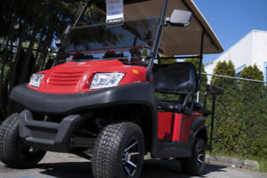NEW! AGT Zephyr 2+2 Electric Cart - RSC Custom Golf Carts