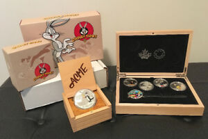 Fine Silver Coin Set, Wrist Watch – Looney Tunes TM Collectibles
