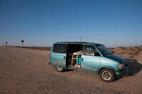 NEED TO GO, Fully equipped GMC safari camper van, 2000 OBO.