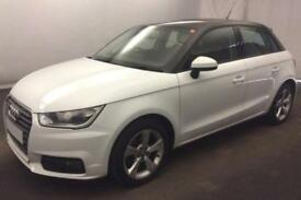 2015 WHITE AUDI A1 1.4 TFSI 125 SPORT PETROL AUTO 3DR CAR FINANCE FROM 41 P/W