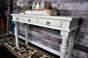 Custom console tables entryway tables dining tables benches
