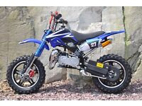 BRAND NEW PIT Dirt bike 2017 Mini ATV Motor Bike Scrambler 49cc 50 cc Pocket Quad Moto 50cc 2 stroke