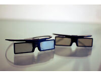 A pair of Active 3D glasses (Samsung)