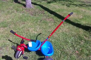 Childs Steer & Stroll TrIcycle with handle-- by Next