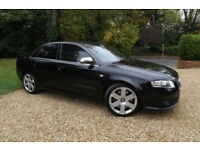 2006 Audi S4 4.2 V8 Quattro 4X4 FSH 344 BHP MINT CONDITION SAT NAV LEATHER TINTS