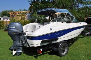 16ft Smoker Craft Bowrider excellent condition