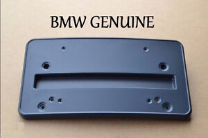 BMW License plate holder/bracket - New OEM Part