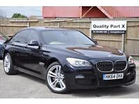 2015 BMW 7 Series 3.0 730d M Sport Exclusive 4dr (start/stop)