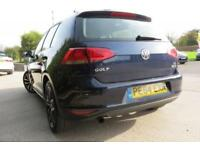 VOLKSWAGEN GOLF 1.6 SE TDI BLUEMOTION TECHNOLOGY DIESEL 2014 64 5 DOOR BLUE
