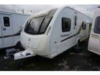 2013 SWIFT CHALLENGER SE 565 4 BERTH CARAVAN - FIXED SINGLE BEDS - END WASHROOM