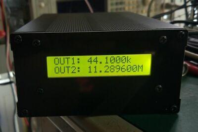 10mhz Frequency Standard Ocxo Crystal Oscillator 10k-180m Audio Clock Soure Lcd