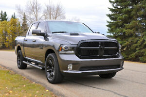 2017 Ram 1500 SPORT NIGHT EDITION 4X4 I RARE I LOADED I EXTRAS