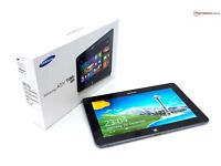 SAMSUNG 64GB ATIV TAB Windows Tablet Dual Core GT-8500 in White As New (iPad, iPhone) PRICE DROPPED