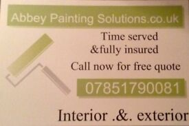 Painters now taking new bookings. Newtownabbey and Belfast area