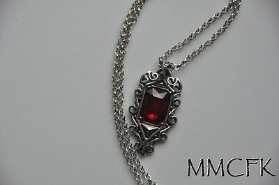City Necklaces (The Mortal Instruments City of Bones Isabelle Lightwood's Ruby Pendant)