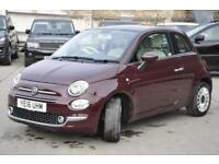 2016 Fiat 500 1.2 Lounge (s/s) 3dr