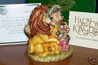 Halloween Special Edition LE 500 Harmony Kingdom Disney Dogs & Cats Halloween