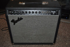 fender princeton 112 plus amp and pedal
