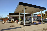 Gas station - 1.1 acre property, mechanic shop and more