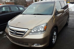 2007 Honda Odyssey Touring Minivan, Van 2 YR WAR Cambridge Kitchener Area image 1