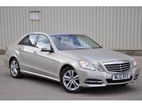 2012 Mercedes-Benz E Class 2.1 E220 CDI BlueEFFICIENCY SE (Executive Pack)