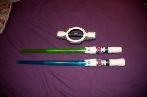 Star Wars The Clone Wars Spinning Electronic Lightsaber London Ontario image 2