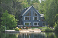 Available for Winter Beautiful Five bedroom cottage on Loon Lake