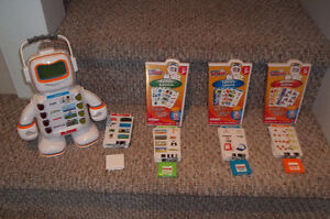 Alphie Learning Robot with 4 sets of cards