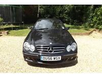 2006 56 Mercedes-Benz CLK 220 CDI auto Avantgarde DIESEL COUPE 68K LOW MILES FSH