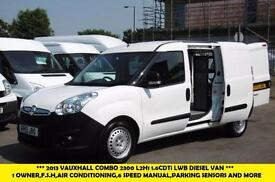 2013 VAUXHALL COMBO 1.6 CDTI 2300 L2H1 LWB S/S 105BHP WITH AIR CONDITIONING,6 SP
