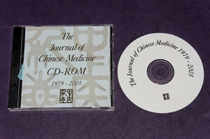 Journal of Chinese Medicine 1979-2002 CD-ROM