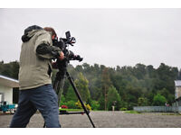 Volunteer on ground camera man wanted to join our Christian group.