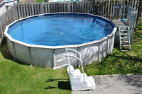 Piscine hors-terre 24 pieds 52 pouces / Pool 24 feet 52 inches