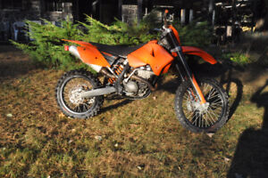 2007 KTM 250 with papers
