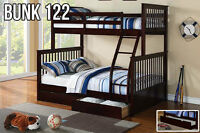 Solid wood Bunks *NEW 2015 Arrivals* FREE TRUNDLE w purchase-122