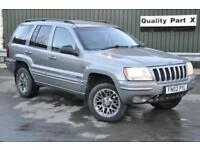 2002 Jeep Grand Cherokee 2.7 CRD Limited 4x4 5dr