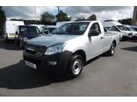 2016 ISUZU D-MAX 2.5 TWIN TURBO DIESEL SINGLE CAB PICK UP IN SILVER METALLIC WIT