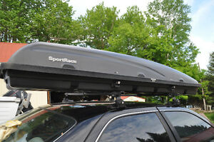 SportRack Rooftop Cargo Box & Roof Rack System Crossbars