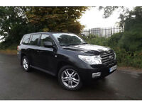 2009 59 Toyota Land Cruiser 4.5TD auto D-4D V8 Premium ICE 71K FSH VERY RARE CAR