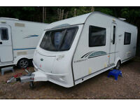 2010 COACHMAN AMARA 560-4 4 BERTH CARAVAN - FIXED BED - MOVER - FULL SPEC!!