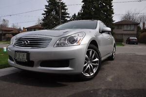 2008 Infiniti G35x Sedan + winter tires