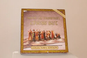 BOOK OF MORMON LDS CHESS SET Collector's Edition