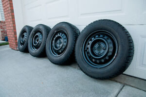 For Sale: 185/70/R14 Gislaved NordFrost 100 Studded Winter Tires
