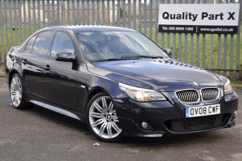 2008 bmw 5 series 3 0 525d m sport 4dr in harrow london gumtree. Black Bedroom Furniture Sets. Home Design Ideas