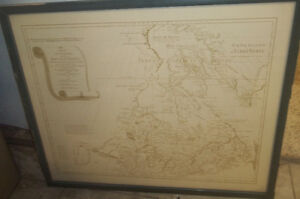 Vintage Map and other Art Pieces...