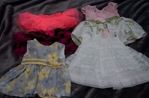Lot of dresses and tutus 0-3m